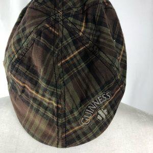 Guinness Dublin Plaid Newsboy Cap